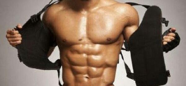 mannelijke stripper lekker gespierd